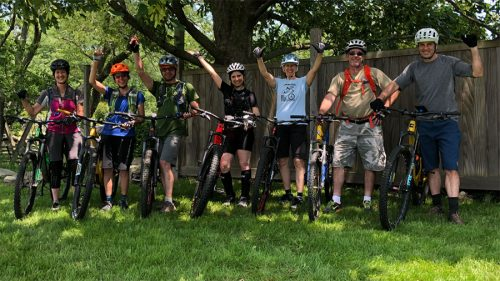 Mountain bike lessons in CT
