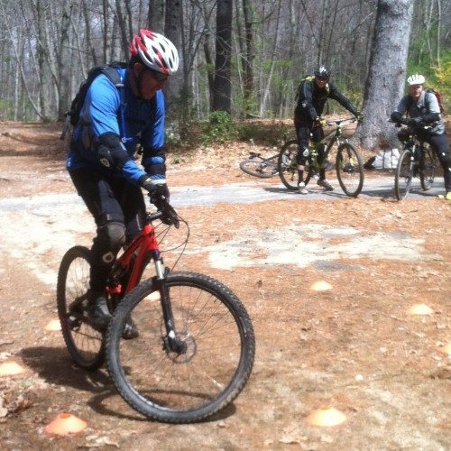 MTB private group coaching