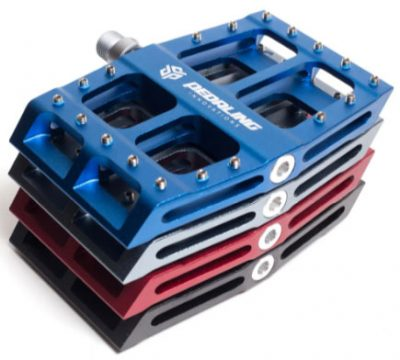 Catalyst Pedals in four colors by Pedaling Innovations